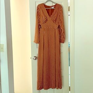 Maxi Dress polka dots